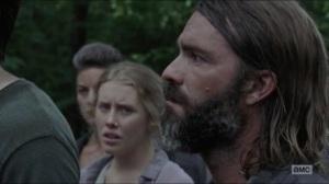 Warning Signs- Saviors ask who killed Justin- AMC, The Walking Dead