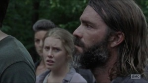 Warning Signs- Saviors ask who killed Justin- AMC, The Walking Dead