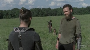 Evolution- Aaron and Jesus talk about being a leader- The Walking Dead, AMC