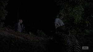 Evolution- Henry is taken to the walker in the hole- The Walking Dead, AMC