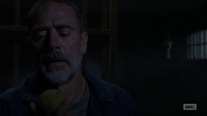Evolution- Negan escapes his cell- The Walking Dead, AMC