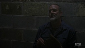 Evolution- Negan talks with Gabriel- The Walking Dead, AMC