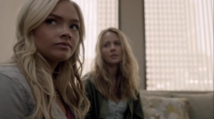 iMprint- Caitlin and Lauren at Dr. Taylor's office- The Gifted, Fox, X-Men