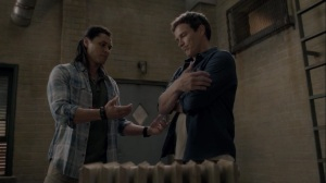 iMprint- John trains Reed on how to control his powers- The Gifted, Fox, X-Men