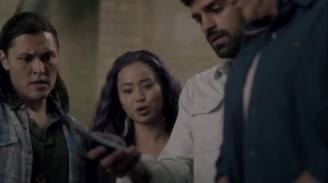 iMprint- Marcos and Clarice tell John and Reed that the Purifiers attacked a church in Baltimore- The Gifted, Fox, X-Men