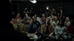 iMprint- Purifiers listen to Jace speak at the meeting- The Gifted, Fox, X-Men