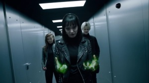 no Mercy- Lorna, Rebecca, and Andy head for the vault- The Gifted, Fox, X-Men