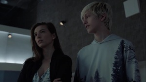 no Mercy- Rebecca tells Andy that she's nervous about the bank mission- The Gifted, Fox, X-Men