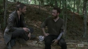 Stradivarius- Aaron and Jesus talk about the fair- The Walking Dead, AMC
