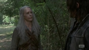 Stradivarius- Carol talks with Daryl about Ezekiel and Henry- The Walking Dead, AMC