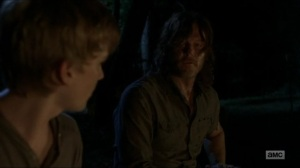 Stradivarius- Daryl and Henry talk- The Walking Dead, AMC
