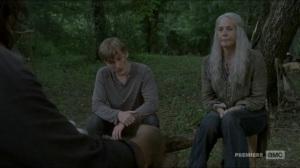 Stradivarius- Daryl cooks for Carol and Henry- The Walking Dead, AMC