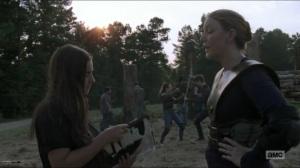 Stradivarius- Dianne and Tara at Hilltop- The Walking Dead, AMC