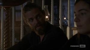 Stradivarius- Jesus and Tara talk about Maggie- The Walking Dead, AMC