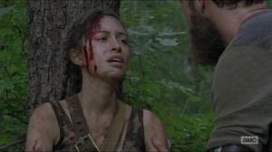 Stradivarius- Rosita found by Aaron and Jesus- The Walking Dead, AMC