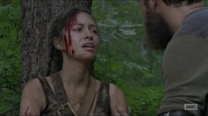 Stradivarius- Rosita found by Aaron and Jesus- The Walking Dead, AMC
