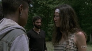 Stradivarius- Yumiko convinces the others to stick with Michonne's plan- The Walking Dead, AMC