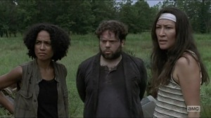 Stradivarius- Yumiko suggests going along with Michonne's plan- The Walking Dead, AMC
