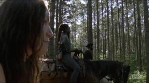Stradivarius- Yumiko tells Michonne about Magna's friendship with Bernie- The Walking Dead, AMC