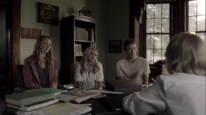 the dreaM- Dr. Garber talks with the Struckers about Otto's research- The Gifted, Fox, X-Men