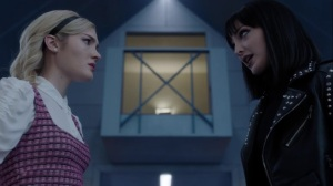 the dreaM- Esme and Lorna discuss the search for Rebecca- The Gifted, Fox, X-Men