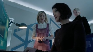 the dreaM- Esme, Sage, and Andy discuss the search for Rebecca- The Gifted, Fox, X-Men
