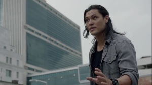 the dreaM- John asks Rebecca about the Inner Circle's plan- The Gifted, Fox, X-Men