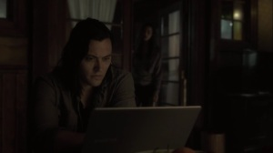 the dreaM- John does research while Clarice watches from afar- The Gifted, Fox, X-Men