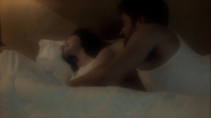 the dreaM- Marcos and Lorna fool around in bed- The Gifted, Fox, X-Men