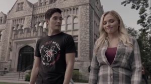 the dreaM- Noah and Lauren explore the college campus- The Gifted, Fox, X-Men