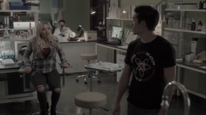 the dreaM- Noah tells Lauren about Dr. Garber's work to suppress the X-gene- The Gifted, Fox, X-Men