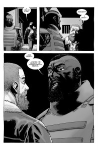 The Walking Dead #185- Mercer tells Rick that he's the leader that the Commonwealth needs