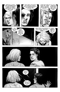 The Walking Dead #185- Sophia tells Carl that she wants to have sex