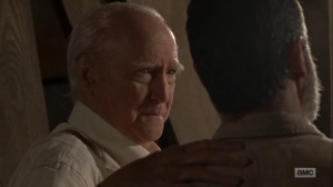 What Comes After- Hershel tells Rick to wake up- The Walking Dead, AMC