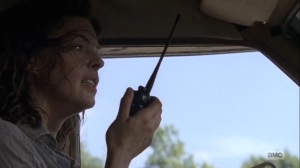 What Comes After- Jadis tells her contact that she has an 'A' ready- The Walking Dead, AMC