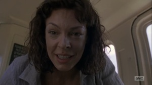 What Comes After- Jadis tells Rick that he's going to be okay- The Walking Dead, AMC