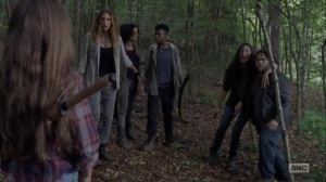 What Comes After- Newcomers rescued- The Walking Dead, AMC