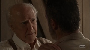 What Comes After- Rick and Hershel talk- The Walking Dead, AMC