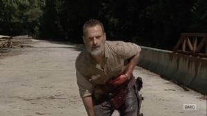 What Comes After- Rick makes it across the bridge- The Walking Dead, AMC
