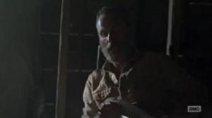 What Comes After- Rick rests in a cabin- AMC, The Walking Dead