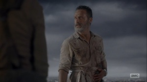What Comes After- Rick tells Sasha that it feels like it's ending- The Walking Dead, AMC