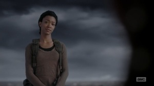 What Comes After- Sasha returns and tells Rick that they both did their parts- The Walking Dead, AMC