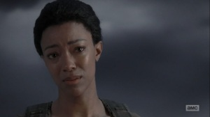 What Comes After- Sasha tells Rick that they don't die- The Walking Dead, AMC