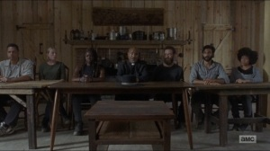 Who Are You Now- Alexandria Council assembles to vote on newcomers- The Walking Dead, AMC