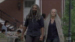 Who Are You Now- Carol and Ezekiel talk about Henry- The Walking Dead, AMC