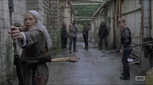 Who Are You Now- Carol and Henry ambushed by Saviors- The Walking Dead, AMC