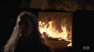Who Are You Now- Carol torches the Saviors- The Walking Dead, AMC
