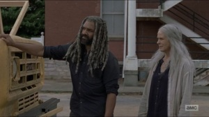 Who Are You Now- Ezekiel and Carol talk about Henry- The Walking Dead, AMC
