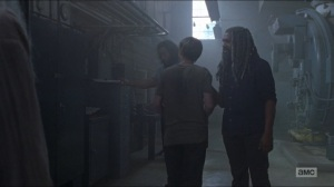 Who Are You Now- Ezekiel tells Henry to watch his tone- The Walking Dead, AMC