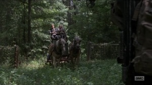 Who Are You Now- Henry and Carol run into Daryl- The Walking Dead, AMC